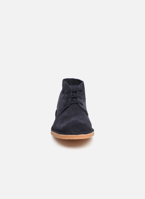 Ankle boots Selected Homme SLHROYCE DESERT LIGHT SUEDE BOOT W Blue model view