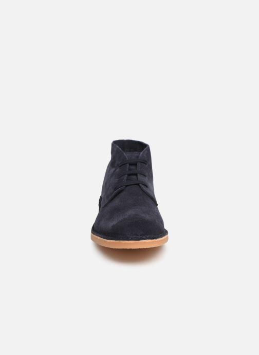 Bottines et boots Selected Homme SLHROYCE DESERT LIGHT SUEDE BOOT W Bleu vue portées chaussures