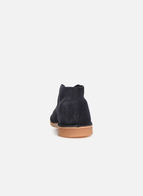 Ankle boots Selected Homme SLHROYCE DESERT LIGHT SUEDE BOOT W Blue view from the right