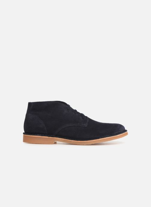 Ankle boots Selected Homme SLHROYCE DESERT LIGHT SUEDE BOOT W Blue back view