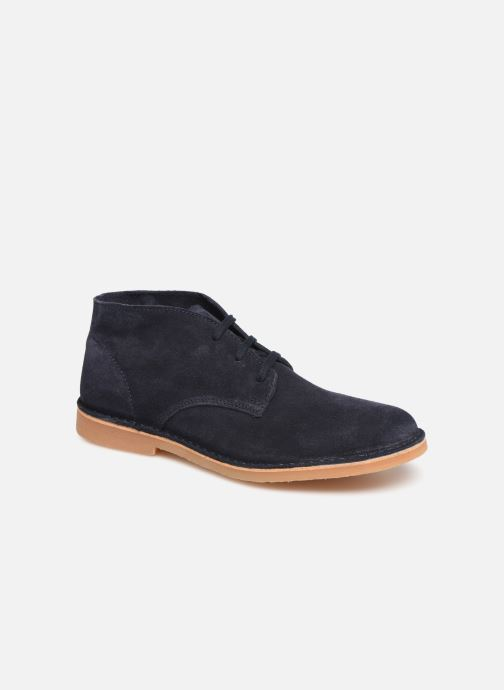 Bottines et boots Selected Homme SLHROYCE DESERT LIGHT SUEDE BOOT W Bleu vue détail/paire