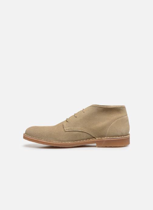 Boots en enkellaarsjes Selected Homme SLHROYCE DESERT LIGHT SUEDE BOOT W Beige voorkant