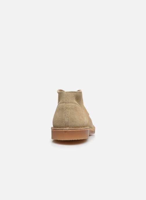 Boots en enkellaarsjes Selected Homme SLHROYCE DESERT LIGHT SUEDE BOOT W Beige rechts