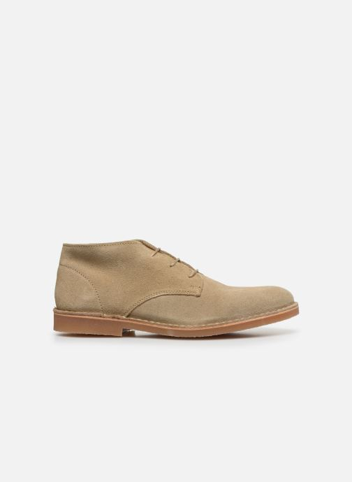 Botines  Selected Homme SLHROYCE DESERT LIGHT SUEDE BOOT W Beige vistra trasera