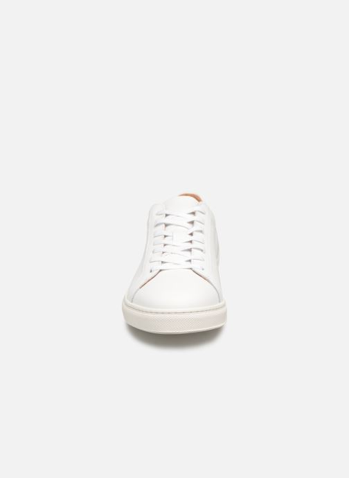 Baskets Selected Homme SLHDAVID SNEAKER W NOOS Blanc vue portées chaussures
