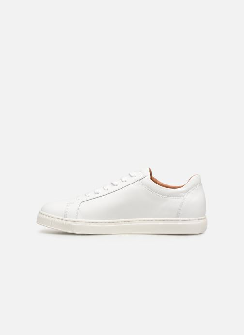 Baskets Selected Homme SLHDAVID SNEAKER W NOOS Blanc vue face