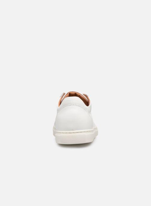 Baskets Selected Homme SLHDAVID SNEAKER W NOOS Blanc vue droite