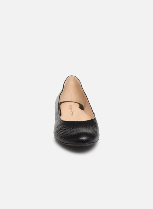 Ballerines Georgia Rose Walia Noir vue portées chaussures