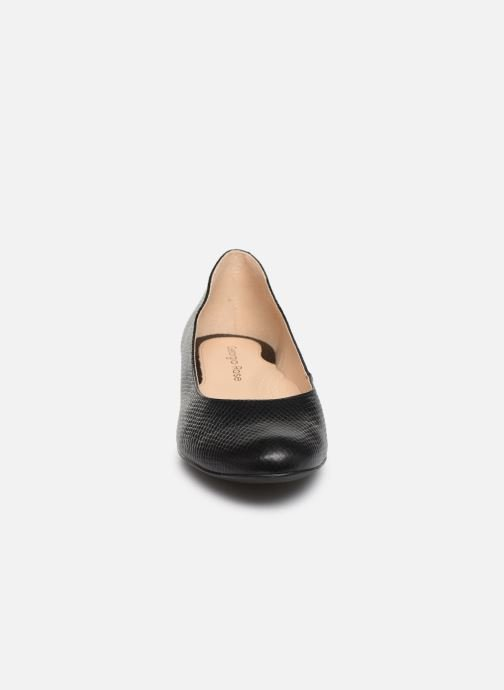 Ballerines Georgia Rose Soft Walia Noir vue portées chaussures