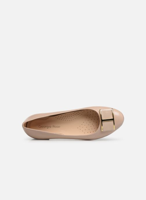 Ballerines Georgia Rose Weronica soft Beige vue gauche
