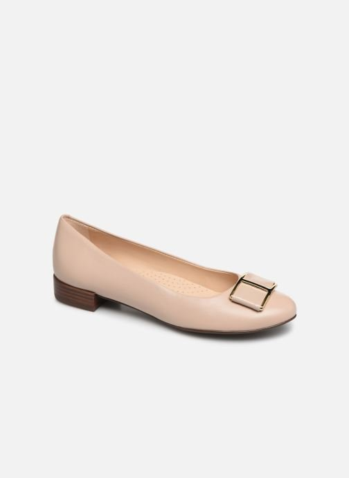 Ballerines Georgia Rose Weronica soft Beige vue détail/paire