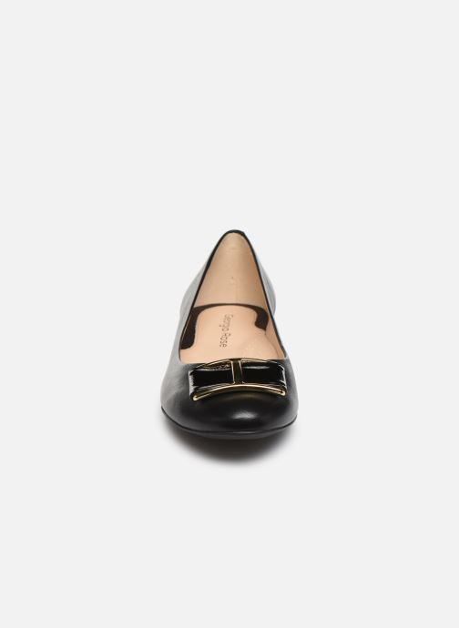 Ballerines Georgia Rose Weronica soft Noir vue portées chaussures