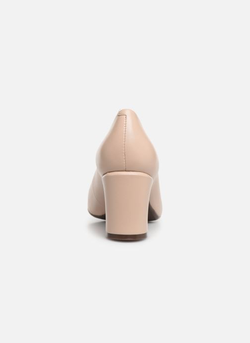 High heels Georgia Rose Wenda soft Beige view from the right