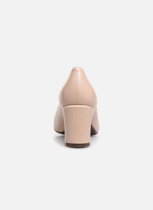 Zapatos de tacón Georgia Rose Wenda soft Beige vista lateral derecha