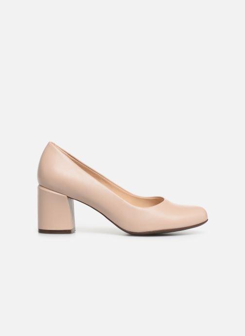 High heels Georgia Rose Wenda soft Beige back view