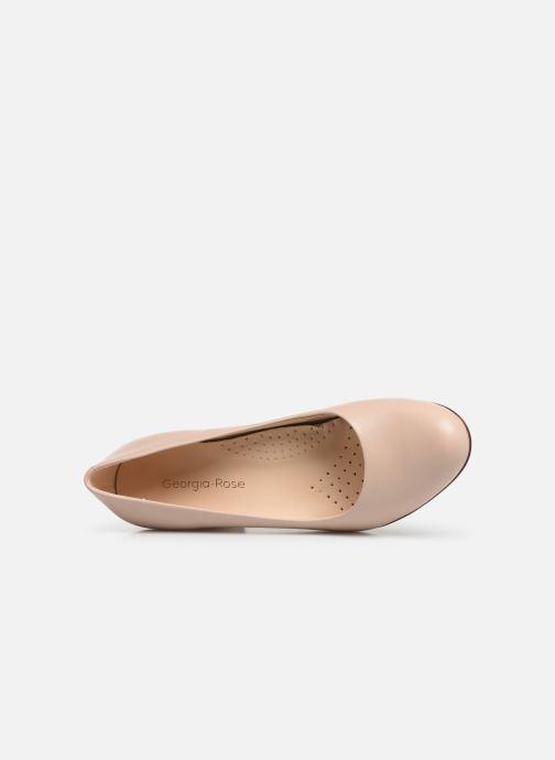 Zapatos de tacón Georgia Rose Wenda soft Beige vista lateral izquierda