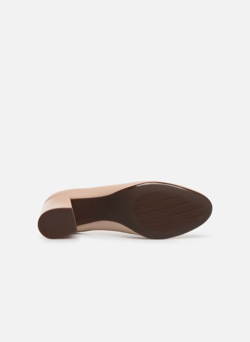 Zapatos de tacón Georgia Rose Wenda soft Beige vista de arriba