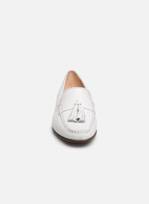 Mocasines Georgia Rose Waleria soft Blanco vista del modelo