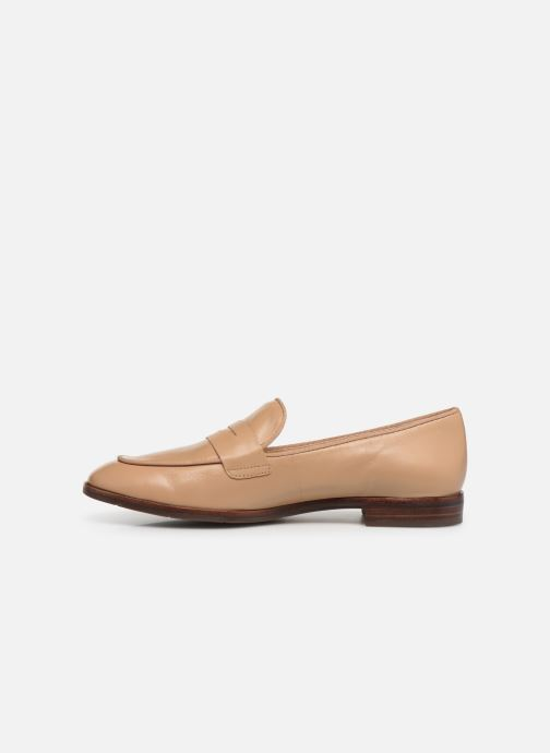 Loafers Georgia Rose Wiola Beige front view