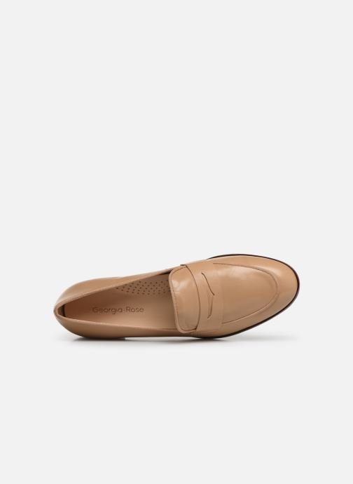 Loafers Georgia Rose Wiola Beige view from the left