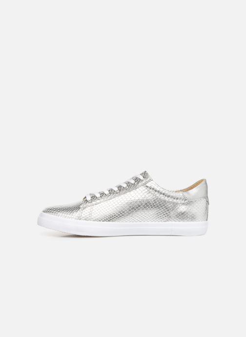 Sneakers Georgia Rose Wilma soft Zilver voorkant