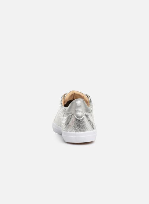 Sneakers Georgia Rose Wilma soft Zilver rechts
