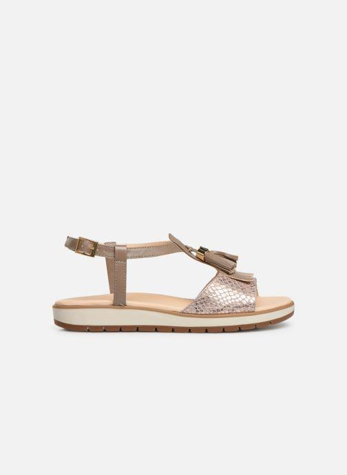 Sandales et nu-pieds Georgia Rose Wokabi soft Beige vue derrière