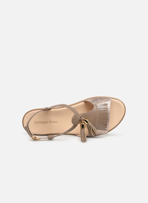 Sandales et nu-pieds Georgia Rose Wokabi soft Beige vue gauche