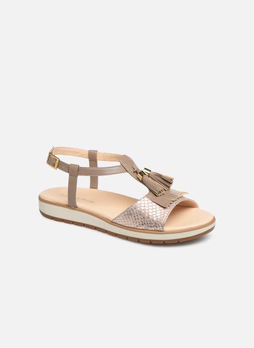Sandales et nu-pieds Georgia Rose Wokabi soft Beige vue détail/paire