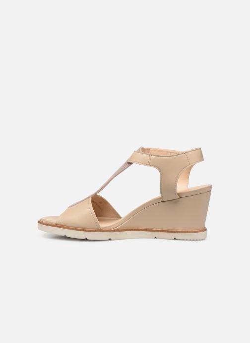 Sandales et nu-pieds Georgia Rose Wattana soft Beige vue face