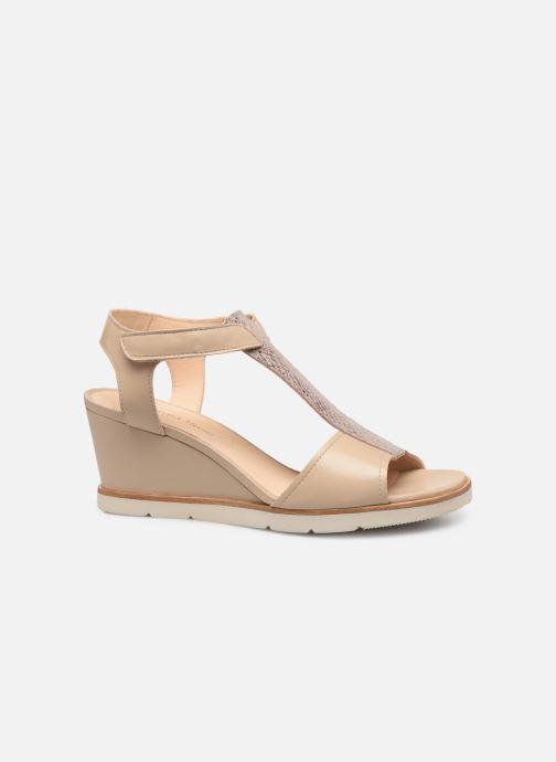 Sandales et nu-pieds Georgia Rose Wattana soft Beige vue derrière