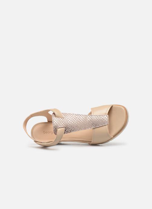 Sandales et nu-pieds Georgia Rose Wattana soft Beige vue gauche