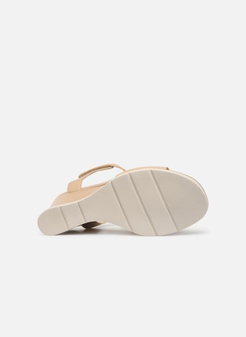 Sandales et nu-pieds Georgia Rose Wattana soft Beige vue haut