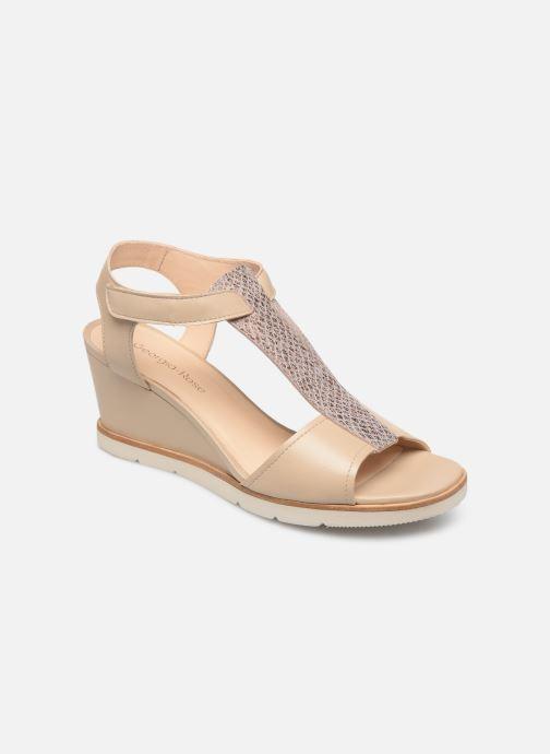Sandales et nu-pieds Georgia Rose Wattana soft Beige vue détail/paire