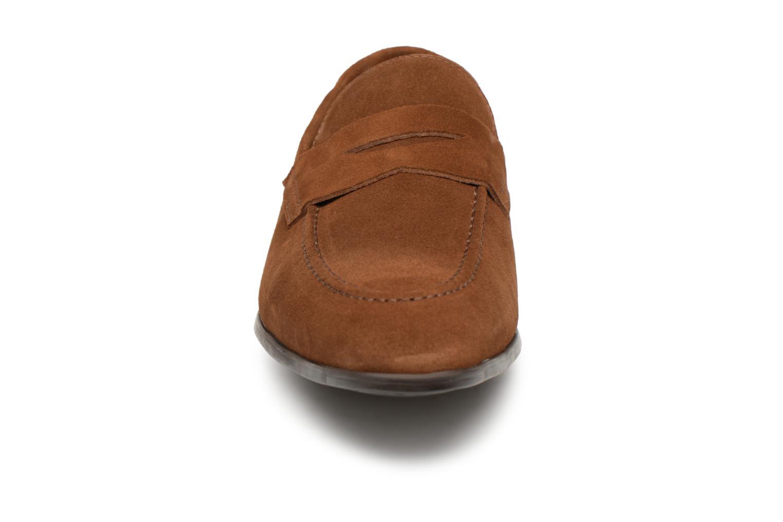 Mocassins Giorgio1958 GUSTO Marron vue portées chaussures