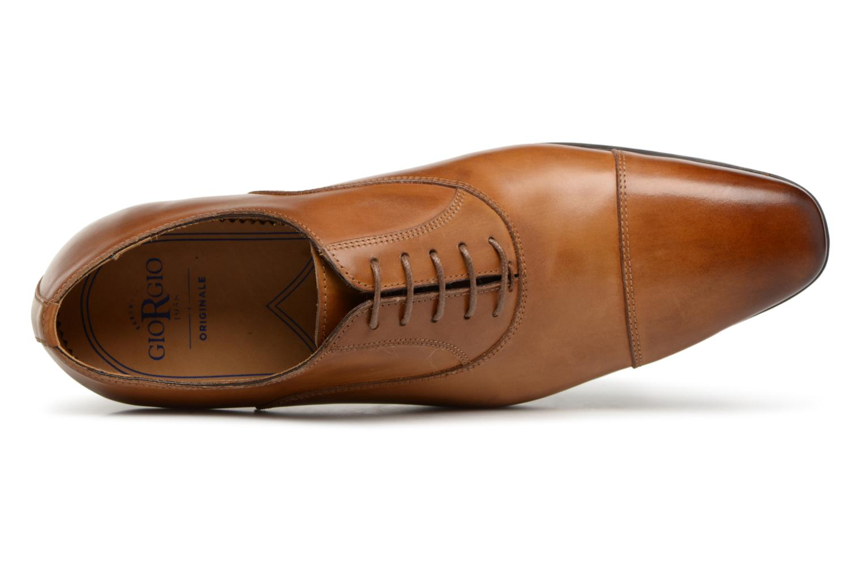 Chaussures à lacets Giorgio1958 GUSTAVO Marron vue gauche