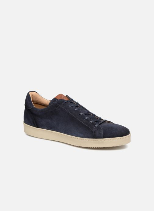 Trainers Giorgio1958 GAGLIOFFO Blue detailed view/ Pair view