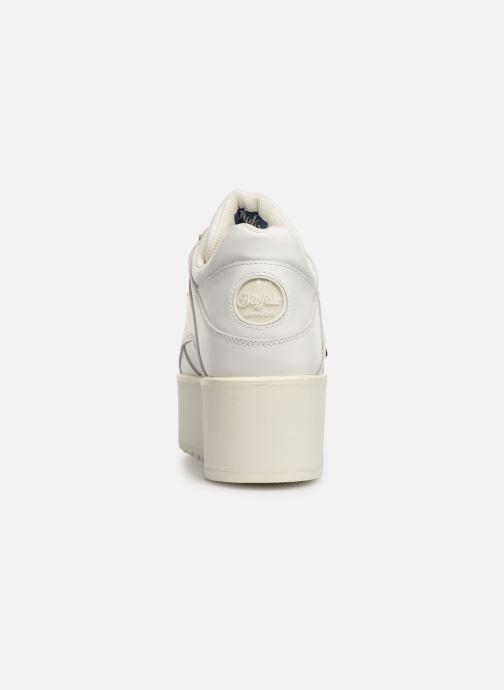 Baskets Buffalo 1330-6 Blanc vue droite