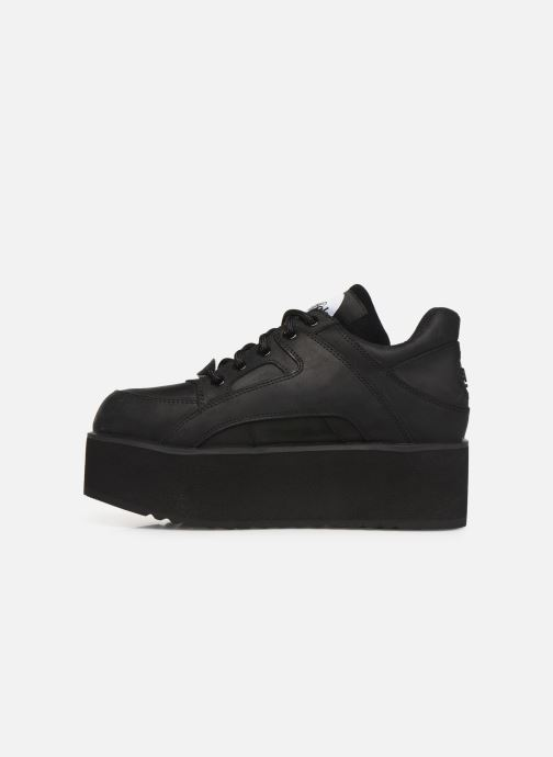 Trainers Buffalo 1330-6 Black front view