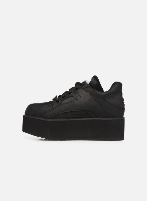Sneaker Buffalo 1330-6 schwarz ansicht von vorne