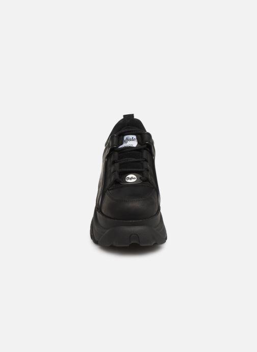 Sneaker Buffalo 1339-14 schwarz schuhe getragen