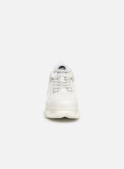 Baskets Buffalo CORIN Blanc vue portées chaussures
