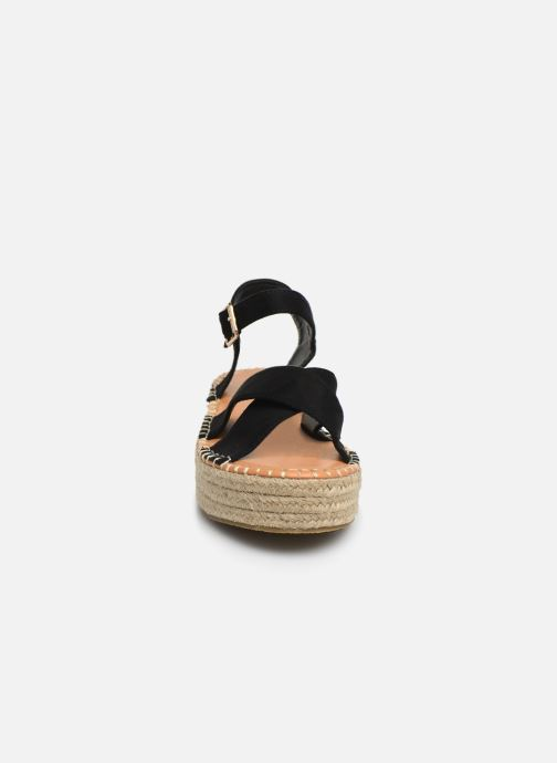 Espadrilles I Love Shoes Becroisa schwarz schuhe getragen