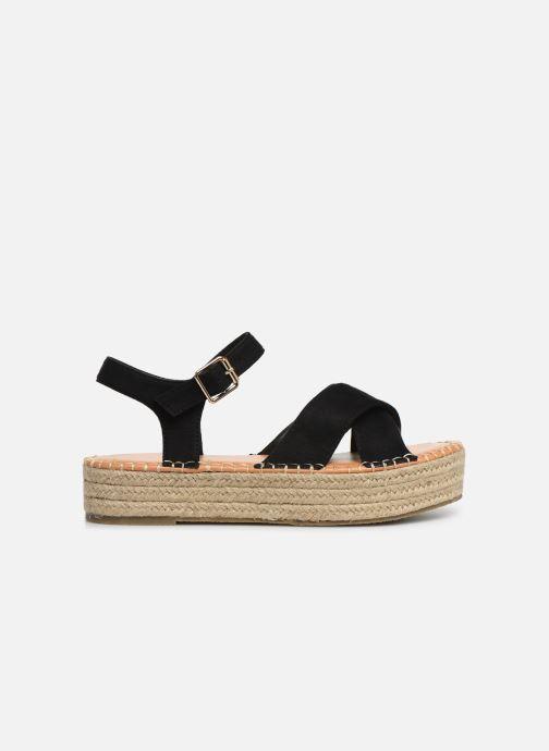 Alpargatas I Love Shoes Becroisa Negro vistra trasera