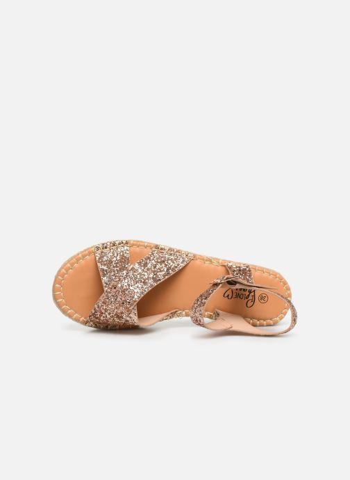 Scarpe di corda I Love Shoes Becroisa Rosa immagine sinistra