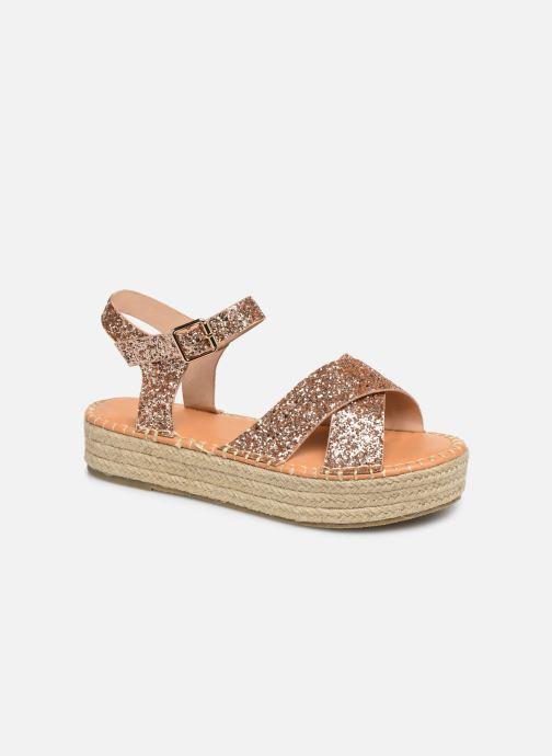 Espadrilles I Love Shoes Becroisa Rose vue détail/paire