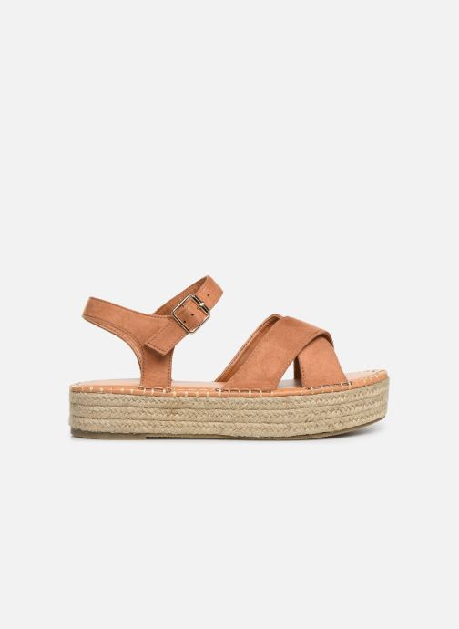 Espadrilles I Love Shoes Becroisa Bruin achterkant