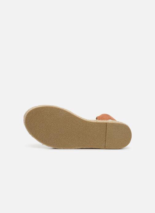 Espadrilles I Love Shoes Becroisa Marron vue haut