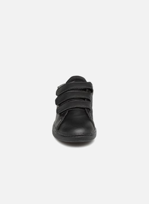 Baskets Le Coq Sportif Courtset Ps Sport Noir vue portées chaussures