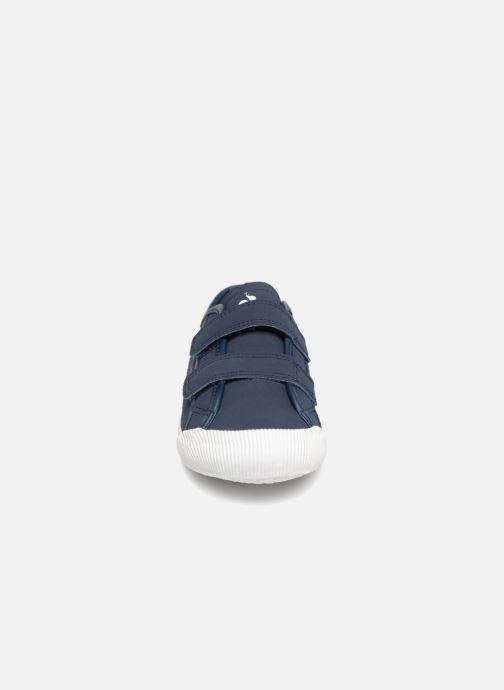 Baskets Le Coq Sportif Deauville Ps Winter Sport Bleu vue portées chaussures